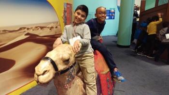 Boys on Camel
